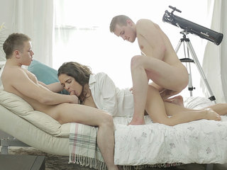 Sex dream becomes a reality